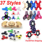 HAND SPINNER TRI FIDGET METAL BALL DESK TOY EDC STOCKING STUFFER KIDS OR ADULTS