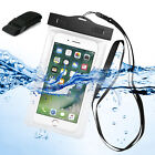 Under Water Proof Pouch Bag Dry Armband Case Cover For iPhone Samsung Cell Phone