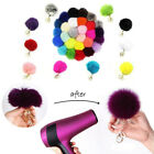 Handbag Key Ring Rabbit Fur Ball PomPom Cell Phone Car Pendant