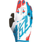 Fly Racing 2017 Kinetic Relapse Gloves - Red/White/Blue