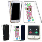 360° Silicone gel shockproof Case Cover for many mobiles -design ref zq333 clear