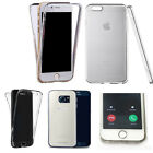 360° Silicone gel shockproof Case Cover for many mobiles -design ref zq150 clear