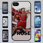 Derrick Rose Chicago Bulls Dunk Paint Apple iPhone & Samsung Galaxy Case Cover