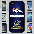 Denver Broncos 2016 NFL AFC Champions Case Cover for iPhone & Galaxy