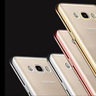 Luxury Electroplated Slim Clear Soft Case Back Cover TPU For Various Smart Phone
