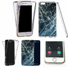 360° Silicone gel full body Case Cover for many mobiles - marble design q21