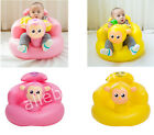 Flatable Toddlers Sit Me Up Stool Training Seat Dining Bath Chair Baby Sofa