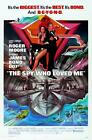 James Bond 007 - The Spy Who Loved Me Movie Poster Canvas Art Print Roger Moore £20.0 GBP on eBay