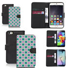 black faux leather wallet case cover for many mobiles design ref z328