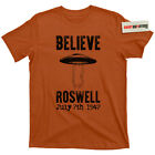 Roswell Crash Ufo Flying Saucer Conspiracy Theory Nasa Moon Landing Hoax T Shirt