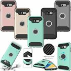 360° Rotating Ring Kickstand Shockproof Cover Case For Samsung Galaxy A5 A7 2017