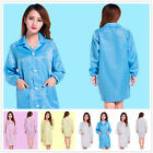 Medical ESD-Safe shield Anti-static Unisex Dustproof LAB Smock Clothes Coats