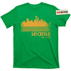 City of Seattle Washington Tacoma grunge supersonics 90s kurt cobain T Shirt Tee image
