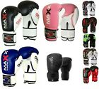 Maxx 4oz 6oz 8oz Kids Boxing Gloves Junior Bag Mitts Punch Bag Children Gel Pad