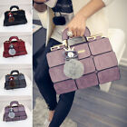 Women Leather Handbag Purse Messenger Ladies Shoulder Crossbody Bag Tote Satchel