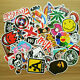 100pcs/lot Sticker Bomb Decal Vinyl Roll Car Skate Skateboard Laptop Luggage NEW