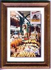 NAWLINS FRENCH MARKET PHOTO CARD FRAMED