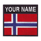 NORWAY CUSTOM BADGE EMBROIDERED PATCH