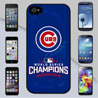 Chicago Cubs 2016 World Series Champions for iPhone & Galaxy Case Cover