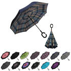 Folding Double Layer Umbrella Windproof Inverted Upside Down Reverse US Shipping