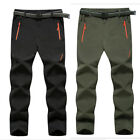 L-8XL Outdoor Men Soft shell Camping Tactical Cargo Pants Combat Hiking Trousers