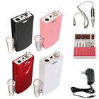 Portable Electric Nail Drill File Rechargeable Cordless Manicure Machine Set