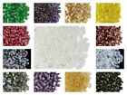 CHOOSE COLOR! 20pcs Czech Pressed Glass Beads ZoliDuo® Right 5x8 mm 2-Hole