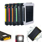 300000mAh Waterproof Carriable Solar Charger Dual USB Battery Power Bank Phone