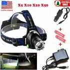 LOT 12000lm CREE Xm-l T6 LED Headlamp Headlight 18650 Flashlight Head Light Lamp