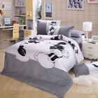 New Duvet Covers MICKEY MINNIE Mouse Quilt Cover Set QUEEN KING Size Bed