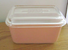 Extremely Rare Very Early Pink Opal Refrigerator Dish Lid 1940's
