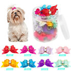 50/100pcs Bling Puppy Small Dog Hair Bows Cute Grooming Accessory for Yorkie Cat