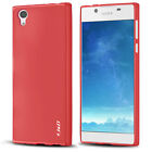 J&D Sony Xperia L1 [Slim Cushion] Jelly Protective Cover Case