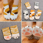 Fashion Cartoon Cats Paw Kitty Claws Ankle Short Socks For Lady Girls Gift