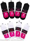 Ladies Womens 6 X Invisible Footsies Trainer Shoe Liner Ballerina Sock UK 4 - 7