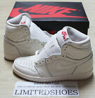 NIKE AIR JORDAN 1 RETRO HIGH OG SAIL UNIVERSITY RED WHITE 555088-114 bred shadow