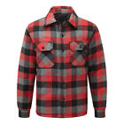 Blue Castle 109 FLINT padded shirt, Red,Blue or Yellow check, all sizes