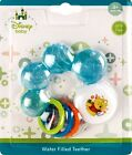 NEW Teething Ring Water Filled Rattle Baby Teether Disney BPA Free Toy 3 months+