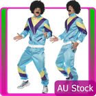 Mens 80's Height Fashion Scouser Tracksuit Shell Suit Costume 80s 1980s Party