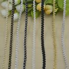 10 Meter Braid Gimp Trim Gold Woven Edging Lace Trim Sewing Upholstery Craft 6mm
