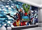 custom mural wall paper home decor avenger alliance painting photo wallpaper