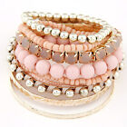 Bohemian Multilayer Beads Bracelet Bangles jewelry Women Party Gifts Wristband