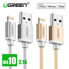 Ugreen Nylon Lightning to USB Cable Fast Charger USB Data Cable