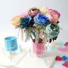 Wedding Guest Book Pen Signing Pen Peony Flower Birthday Favor Decorations