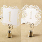 Set of 20 Table Seat Number Numbers Display for Wedding Party Meeting