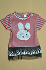 New carton short-sleeved party princess dress girl girls 12 months 1Y