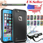 Durable Waterproof Shockproof Hard Case Full Cover For Apple iPhone 6 6S Plus US
