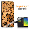 For OPPO R9S Wallet Flip Case Cover Timber Stach Y00760