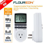 digital switch timer - LCD 12/24 Hours Programmable Digital Timer Socket Switch Outlet Energy Saving US