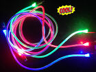 Micro USB LED Visible Light Cable Charge Data Sync for Android  Smart Phone Hot